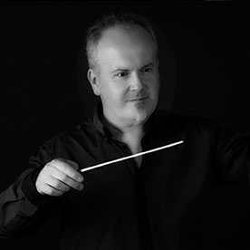 Steve Bingham Conductor of Young NSSO