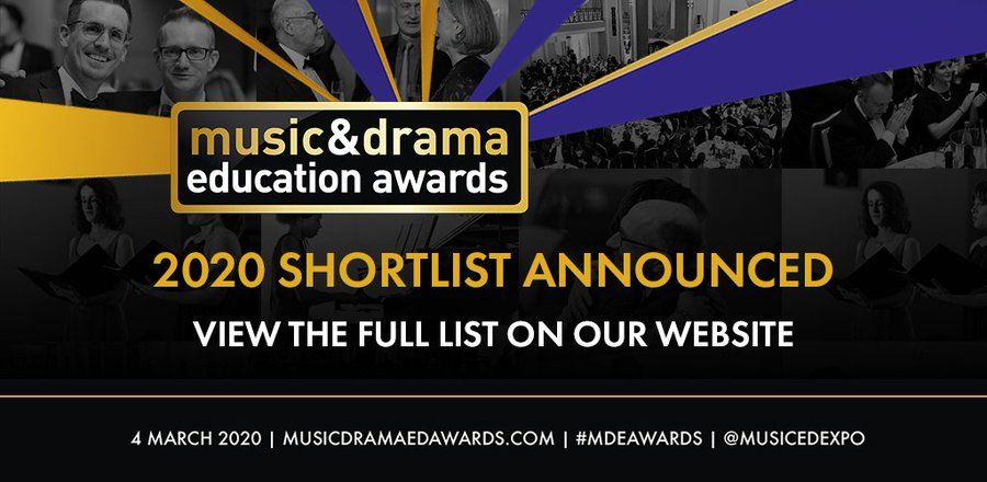 Music Drama Education Awards logo