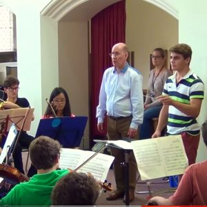 National Schools Symphony Orchestra Conductor Course