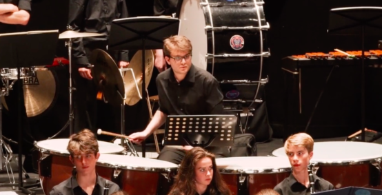 NSSO Percussion player